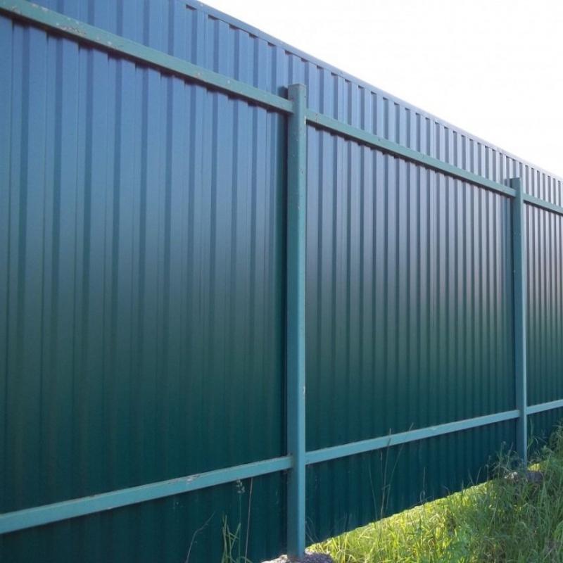Забор из профнастила C20