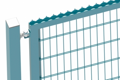 Ворота распашные двустворчатые 2D